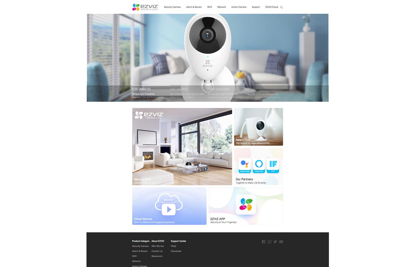 EZVIZ Inc   A Hikvision Company – xeverfree